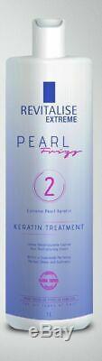 Revitalise Brazilian Keratin Perola Step 2 1000ml / FREE 150ml Alcool Gel
