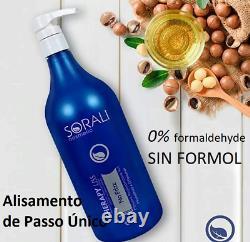 Sorali, Liss Therapy, Straight Treatment 1L Formaldehyde-Free Brazilian Keratin