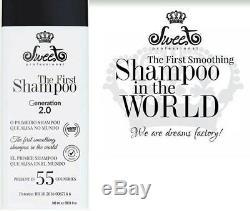 Sweet The First Shampoo Generation 2.0 Progressive Brush Brazilian Keratin 980ml