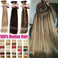THICK 1g/s CLEARANCE Keratin Pre-bonded I Tip Stick Remy Human Hair Extensions R