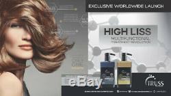 TREATMENT KERATIN BRAZILIAN Truss High Liss 650ml Progressive Hair Straigh