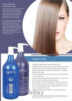 Therapy Liss Sorali Hair Straightening Cream Smoothing Brazilian Keratin