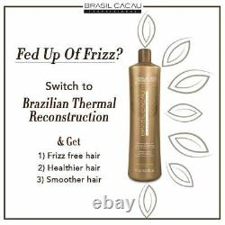 Thermal Reconstruction Keratin Treatment Brazilian Blowout Step2 1 bottle only
