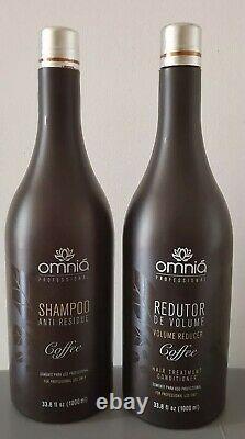 Tokyo Coffee Premium OMNIA Keratin Brazilian Hair treatment 1000ml Straightener