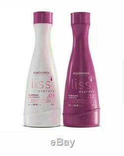 Traditional Madamelis Brazilian Keratin Blowout Hair Progressive Brush Set 1 L
