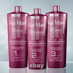 Treatment Keratin Agi Max Red Kera-X BRAZILIAN KERATIN 3 products