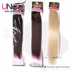 US Stock Keratin Stick I-tip Straight Hair 100% Remy Human Hair Extensions 100S