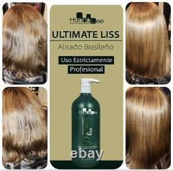 Ultimate Liss Formoldehyde Free Brazilian Keratin Treatment 1L- Hanna Lee Sorali