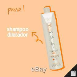 Visat Hair Perfect Liss Tourmaline Brazilian Keratin Antifrizz Treatment 1L 34oz
