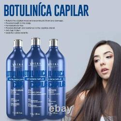 Ybera Botulinica Reconstructive Kit 3 x 1L Brazilian Hair Treatment Keratin