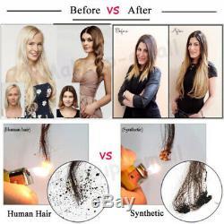 100s Pré Collé Kératine Fusion I Astuce Cheveux Extensions De Cheveux Humains 100% Remy