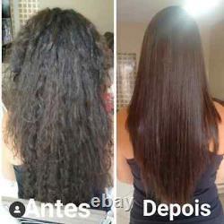 10 Unités Anti Frizz Mask Hair Lissage Professionnel Brésilien-12.35oz