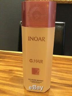 1 X Inoar G-hair Kératine Brésilienne Keratinbehandlung, Haarstraightener Neu