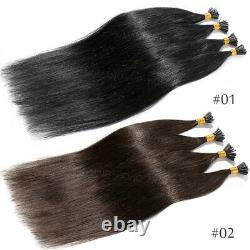 20/22inch I-tip Pre Bonded Keratin 100% Real Remy Human Hair Extension 200stick