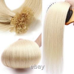 300s Us Soft Brésilien Pré Bonded Nail U Tip Keratin Remy Extensions De Cheveux Humains