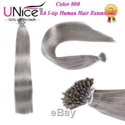8a Unice Remy Bâton À La Kératine I Astuce Extension Brésilienne De Cheveux Humains 1g / S 100strands