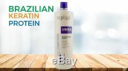 Agi Contrôle Unika Agilise Formoldehyde Gratuit Brésilien Kératine Traitement- Agilise