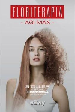 Agi Max Kit Cheveux / Lissage Kératine Brésilienne 1 Lt 3 Étapes X 1000ml En Vente