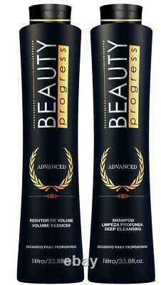 Beauty Progress Advanced Keratin Treatment Kit 2x 1l 66fl. Oz