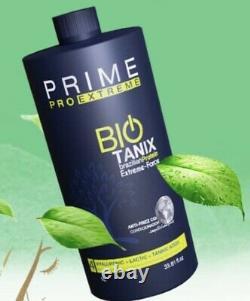 Bio Tanix Prime Extreme Keratin Brazilian Step 2 Now Step 4 USA Stock