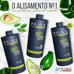 Bio Tanix Prime Extreme Keratin Brésilian Aucune Formule Professionnel 3 Produits