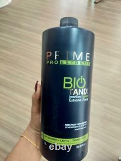 Bio Tanix Prime Extreme Kératine Brésilienne No Formol Professional 3 Produits