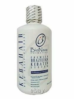 Bionaza Kerahair Traitement De La Kératine Brésilienne 32 Oz