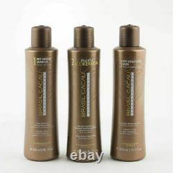 Brasil Cacau Kit Brésilien Eco-keratin Salon Professional Hair Treatment = 900ml