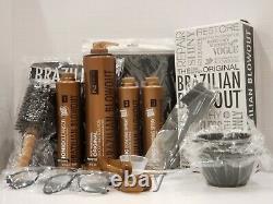 Brazilian Blowout Professional Original Solution Full Kit Set Étape 1- 2-3