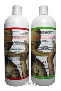 Brésil Kératine Du Traitement Kit 32 Oz / 1000 ML Résultats Kératine & Shampoing Grands
