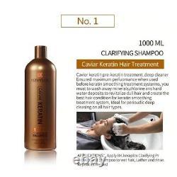 Brésilien Blow Dry Hair Shampoo Conditioner Traitement Kératine Blowout Thérapie