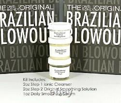 Brésilien Blowout Original Solution Kératine Traitement 2oz Kit -même Jour Expédition