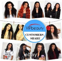Brésilien Human Hair Bundles Vipbeauty Body Wave Bundles With Closure Natural 22