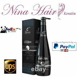 Brésilien Keratin Deluxe Ecosmetics 33.8 Fl. Oz. Livraison Gratuite Par Fedex Ou Ups