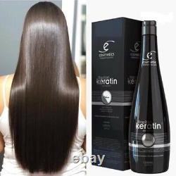 Brésilien Keratin Deluxe Ecosmetics Traitement Progressif 1l+200 ML 6,76 Oz Gift