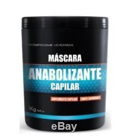 Brésilien Kératine Anabolic Supplément Pour Cheveux Traitement Masque 1kg Cosmetics Fit