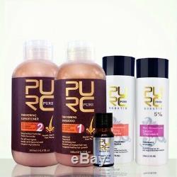 Brésilien Kératine Défrisage Shampooing Revitalisant Pour La Perte De Cheveux