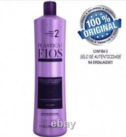 Brésilienne Keratin Cadiveu Plastica Dos Fios Cheveux Redressage Étape 2 +masque 500g