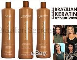 Cadiveu Brasil Cacau - Kit De Défrisage Pour Cheveux Desséchants À La Kératine Brésilienne