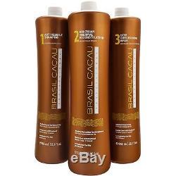 Cadiveu Brasil Cacau Kit De Traitement Des Cheveux Kératine Brésilienne 34oz 1000ml