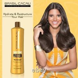 Cadiveu Brasil Cacau Lissant Protéine Brésilienne Lissage Des Cheveux Secs