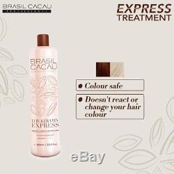 Cadiveu Brasil Cacau Traitement De Lissage Des Cheveux À La Kératine Express Brésilienne 1l