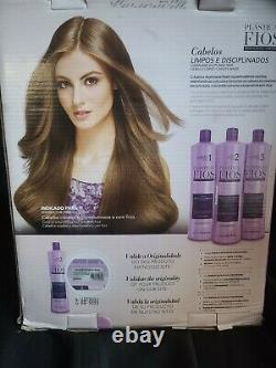 Cadiveu Brésilien Keratin Plastica Dos Fios Traitement Cheveux Redressant 3 Étapes