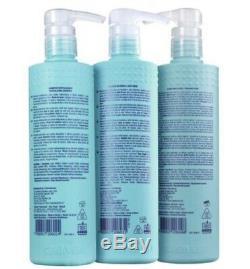 Cadiveu Brésilien Kératine Plástica Argila 3x500ml Traitement Capillaire Acide Hyaluronique