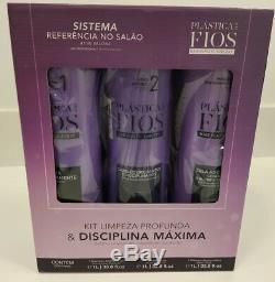 Cadiveu Bresilien Professionnel Plastica Dos Fios Cheveux En Plastique Kératine Lissage
