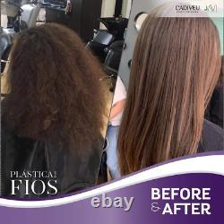Cadiveu Plastica Dos Fios Système De Lissage Des Cheveux Kératin Brésilien Anti Frizz