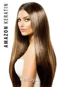 Cheveux Brésiliens Amazon Keratin Lissant Apple Au Collagène Et Sans