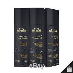 Cheveux Doux Belle Brésilien Professionnel Redressage Kératine Traitement 1l 34 Oz