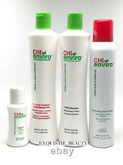 Chi Enviro Kit De Traitement Lissant Les Cheveux Vierges Similaire Comme La Soufflante Brésilienne