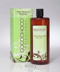 Cocochoco Kératine Brésilienne Professionnelle Traitement De Lissage Kit Complet